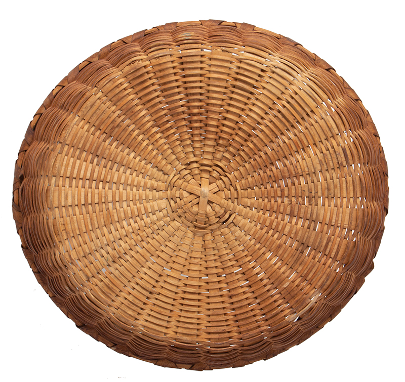 Friendship Basket, Bushwhacker Fruit Basket Form, Small Size Taghkanic, entire view 5