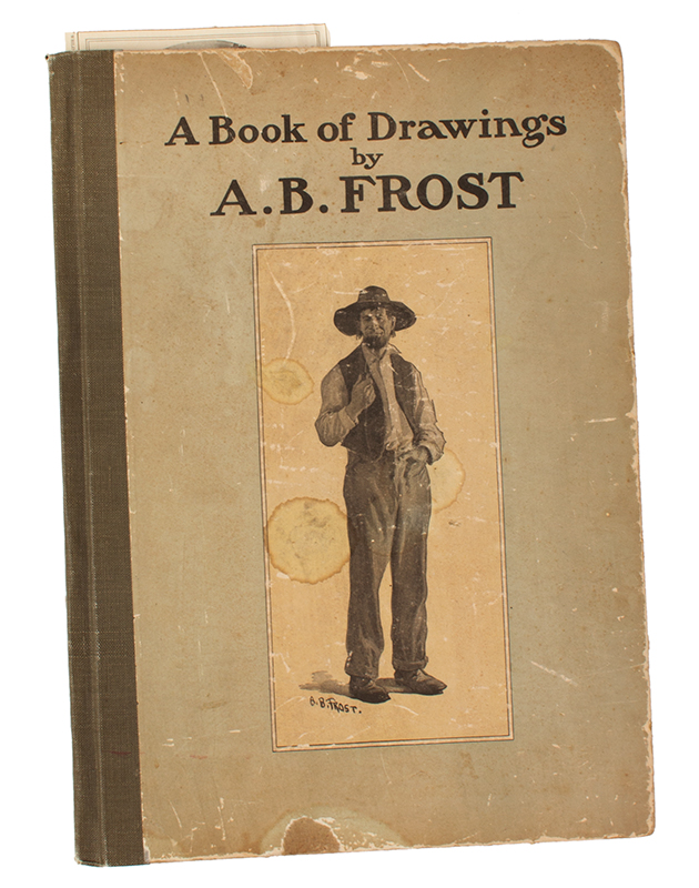 Arthur Burdett Frost, A Close Game Between the Squire and the Postmaster Arthur Burdett Frost (1851-1928), book view