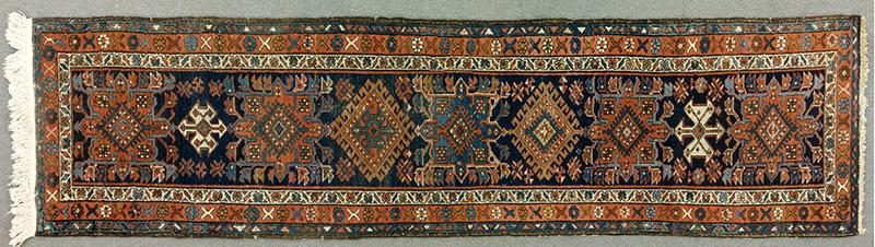 CARPET, Mohan Runner of Heriz Design Northwest Persia, entire view