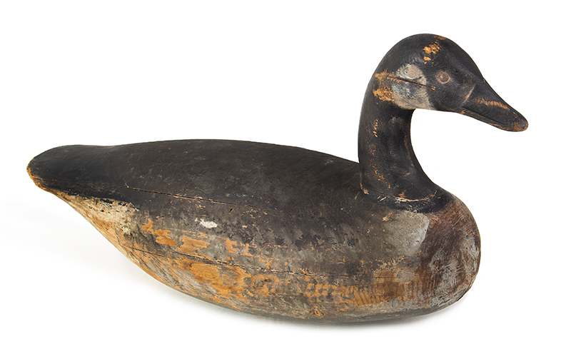 Canada Goose Decoy, Carved and Painted by Ira Hudson, Chincoteague, Virginia Ira Hudson (1873-1949), entire view 1