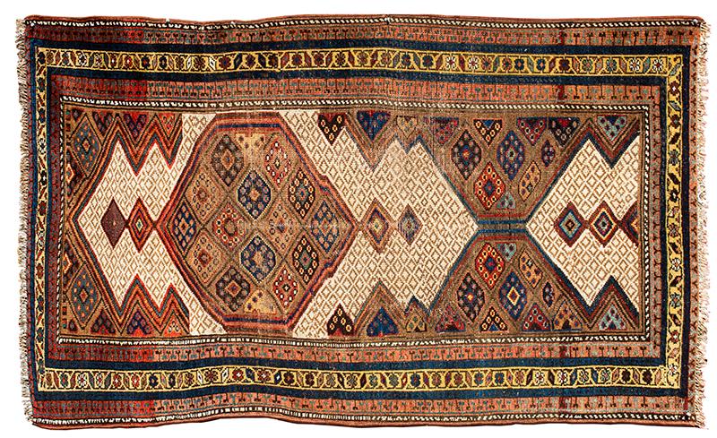 Serab Rug, Camel Hair, Northwest Persia, entire view 1