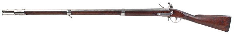 Model 1795 Harpers Ferry Flintlock Musket Dated 1817, Type IV, left facing