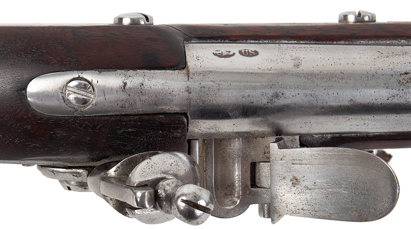 Model 1795 Harpers Ferry Flintlock Musket Dated 1817, Type IV, tang