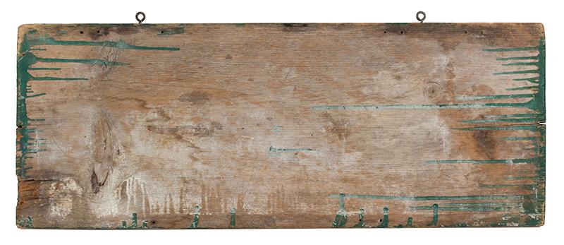 Trade Sign, VIRGINA SHELLED PENUTS No.1, back