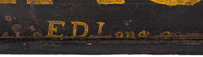 Trade Sign, Confectionary, Ice Cream, SOFE [sic] Drinks, Cigars, Tobacco, detail view