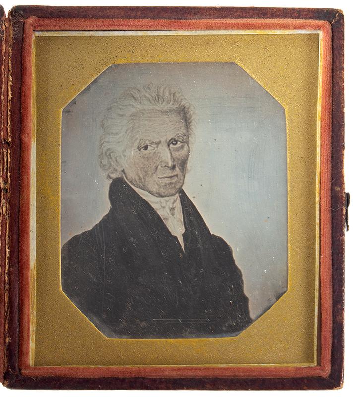 Daguerreotype, Photograph of Andrew Jackson Portrait, Sixth Plate, entire view 1