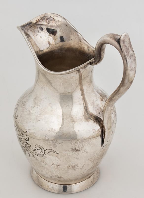 Historic Maritime Presentation Silver, Coffeepot, Sugar Bowl, Milk Pitcher, entire view 13