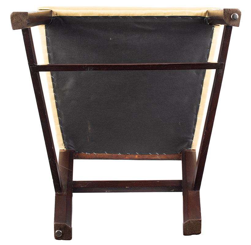 Chippendale Side Chairs, Matched Set of Six, Carved Crest, Pierced Splat Likely English, George III, underside view
