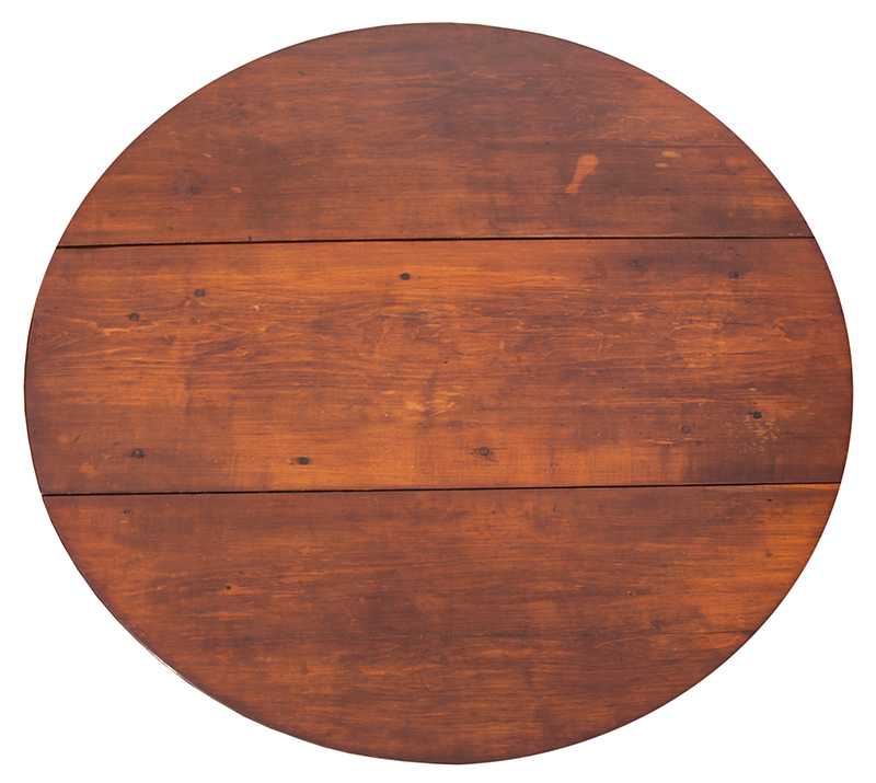 Small Queen Anne Drop Leaf Table, Northshore Massachusetts, top view