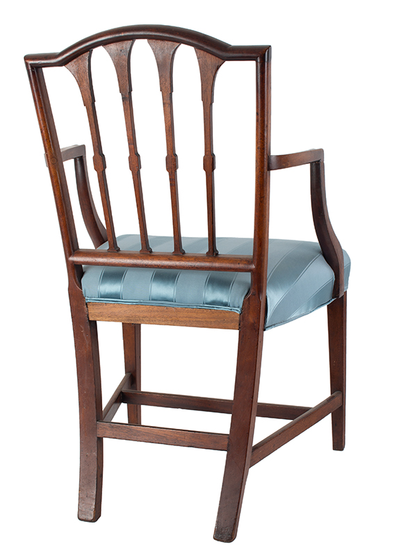 Seven Federal Carved Side Chairs & One Armchair *Four Additional Chairs Available Salem, Massachusetts, entire view 7