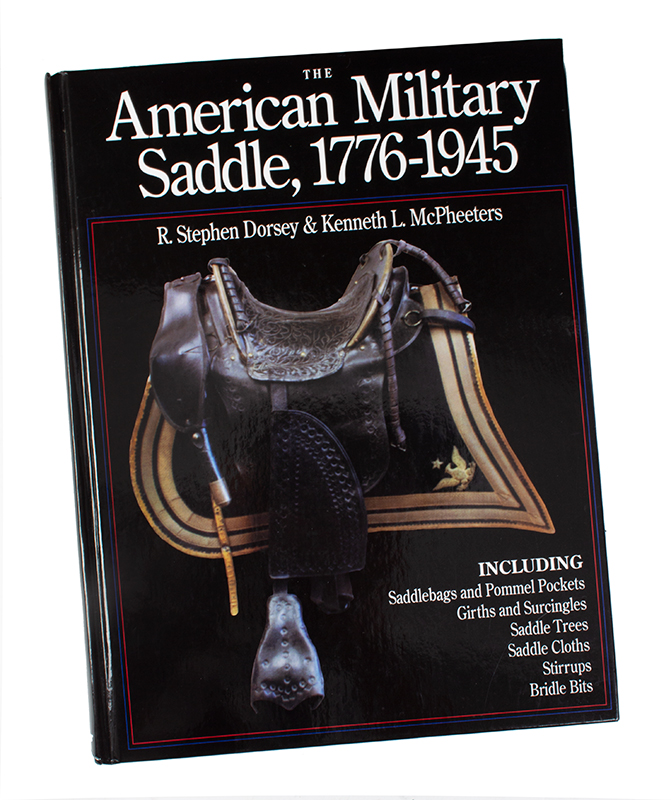 Book, The American Military Saddle, 1776-1945, entire view