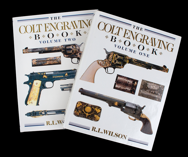 The Colt Engraving Books, entire view