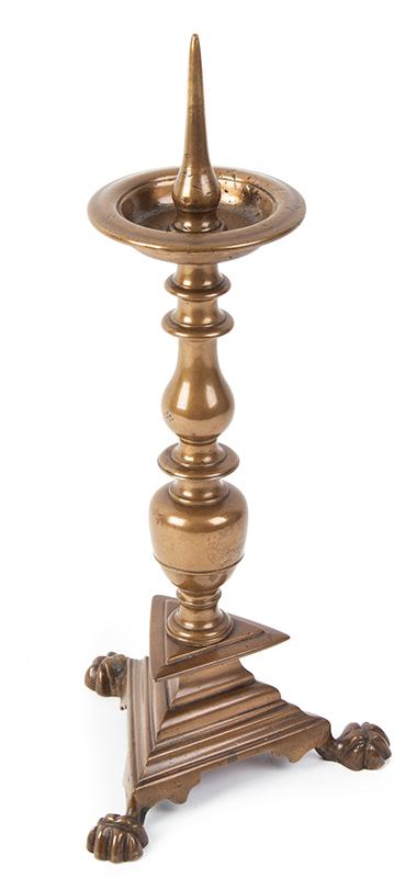 Former High Period bronze candlestick