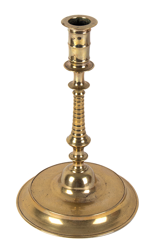 Nuremberg Candlestick, Conical Center Low Broad Base, entire view 2