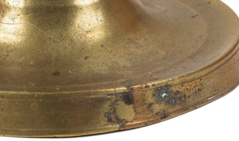Late 15th Century Candlestick, Franco-Flemish, detail view