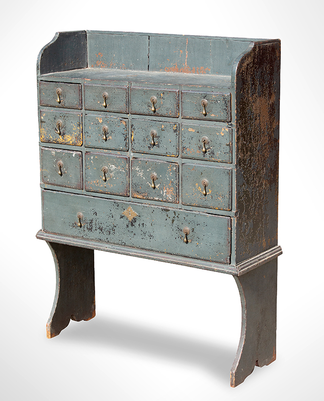 Exceedingly Rare Doctors Apothecary Chest, New England, Likely Massachusetts, entire view 1