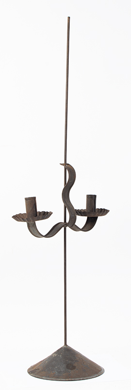 Sand Weighted Adjustable Candlestand, Candle Jack, For Shop, Home or Office, entire view 1