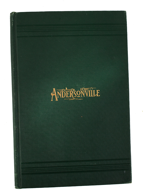 Book: Report on the Commission on Andersonville Monument (Commonwealth of Massachusetts), cover view
