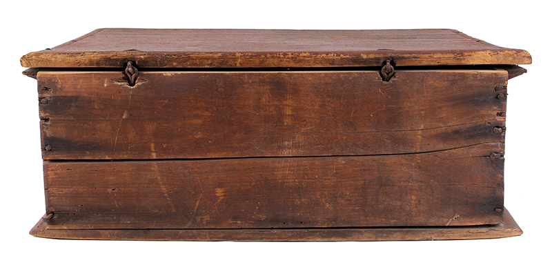 Early Eighteenth Century Bible Box, New England, Likely Massachusetts, entire view 3