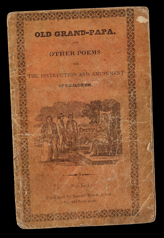 Children's Book: Old Grand-Papa and Other Poems, cover view