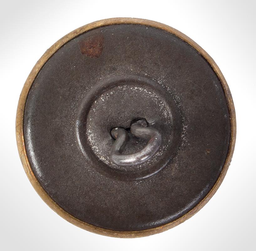 George Washington Commemorative Button, Albert PC 52, back view