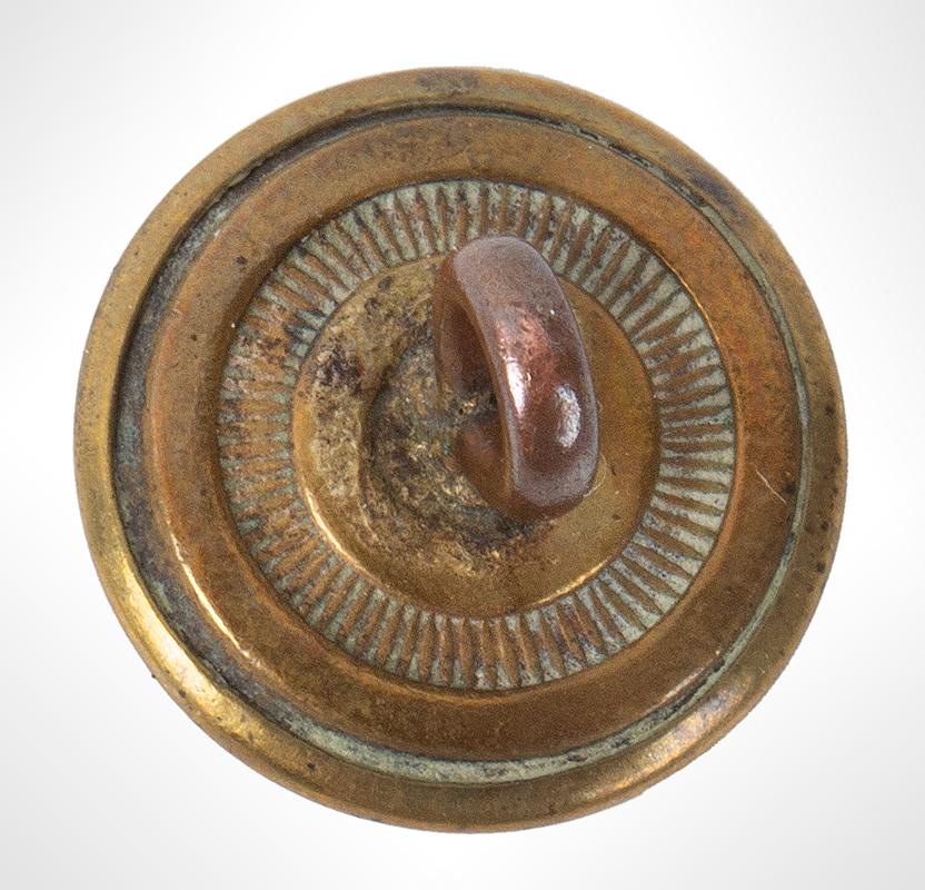 George Washington Commemorative Button, Albert PC 48, back view