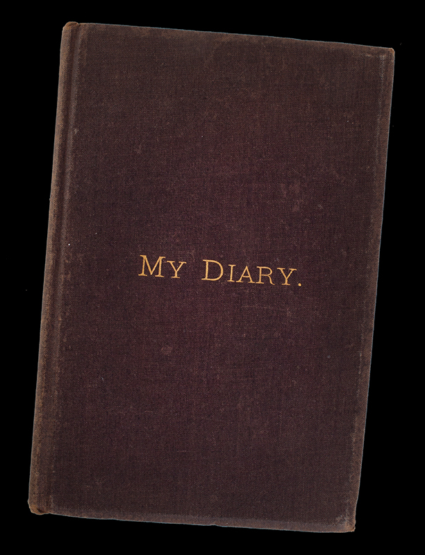 Book: My Diary of Rambles with the 25th Mass. Volunteer Infantry: With Burnside's Coast Division, 18th Army Corps, Army of the James, D, L. Day, cover view