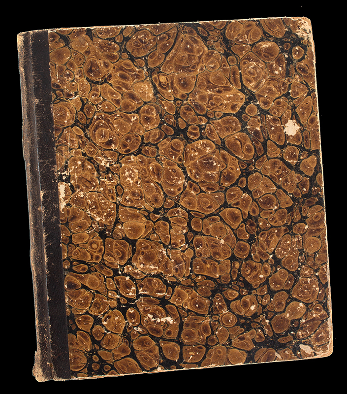 New Ipswich New Hampshire Account Book-Daybook, Louise M Abbot, cover view