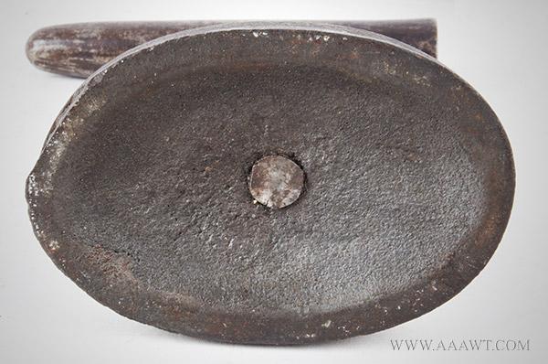 Goffering Iron, Wrought and Signed by Maker Patrick Lyon, Philadelphia PATRICK LYON * PANTENTEE, detail view 1