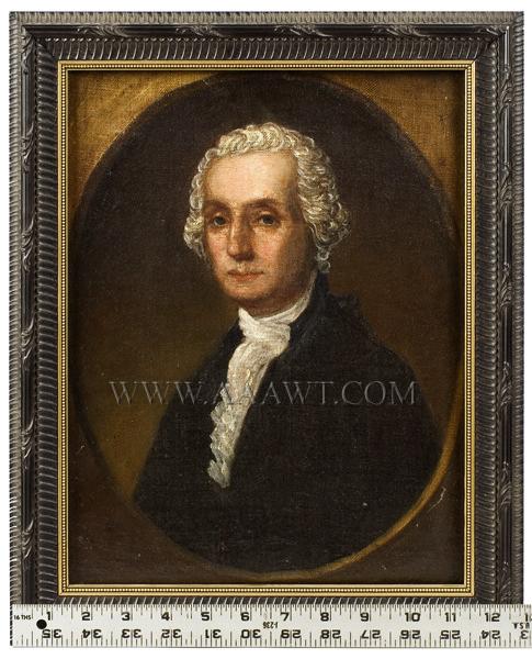 Portrait, George Washington, entire view ruler