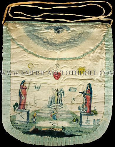 Early Masonic Apron