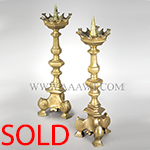 Antique Lighting, Candle Sticks, Chandeliers