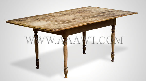 Maple and pine generous overhang and surface sold for Dining table overhang