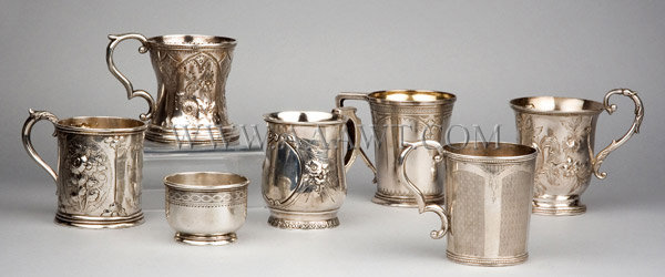 Group of Silver Cups, entire view