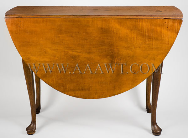 Queen Anne Table Massachusetts Circa 1760-1780, entire view