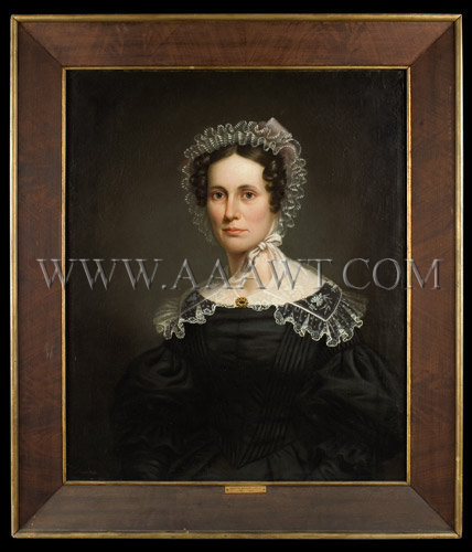 Portrait Marietta Jarvis (1785-1843) Anonymous, entire view