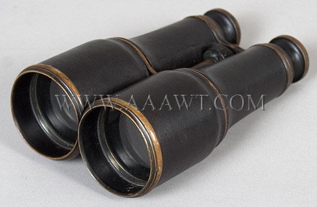 Civil War Era Binoculars, entire view