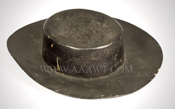 Antique Hat, Jack Tar Hat, Early 19th Century, angle view