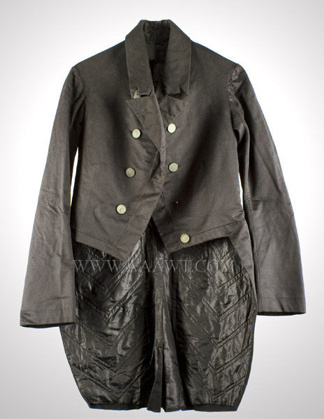 Antique Jacket, Man's Jacket, 19th Century, entire view