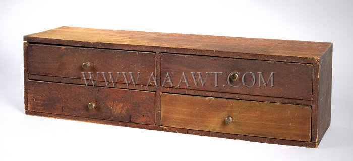 Four-Drawer Utility In Shaker Style, entire view