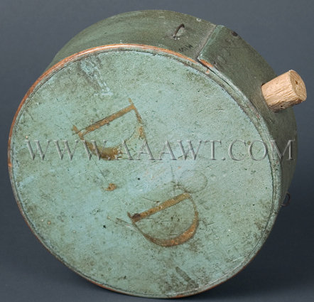 A Wood Militia Canteen