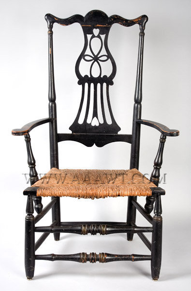 Armchair New York Circa 1800, entire view