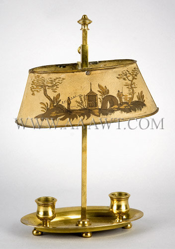 Bouillotte Lamp French Mid-19th Century