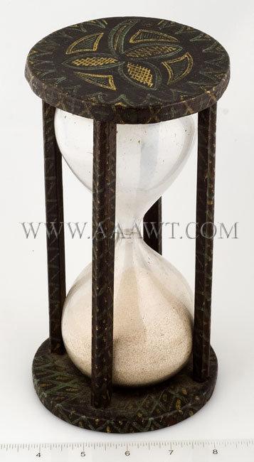 Antique Hourglass Hour Glass Sandglass Egg Timer