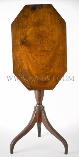Federal Tilt-Top Candlestand  New England, walnut  Circa 1780-1820, entire view