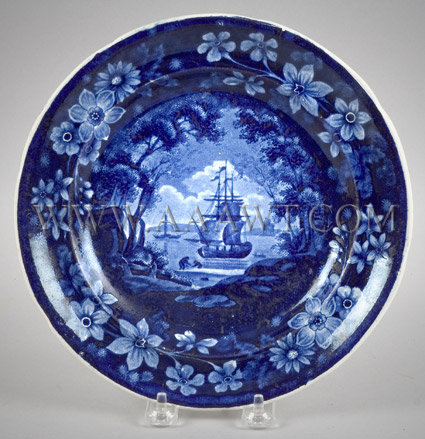 Cadmus So-Called Plate By Maker of Diorama Series, entire view