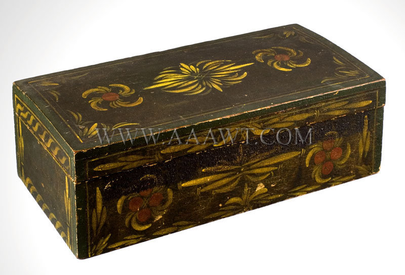 Polychrome Document Box, entire view