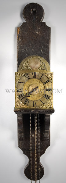 Traveling Lantern Alarm Clock By John Payne (1731 to 1735), Lenham Mid 18th Century, entire view