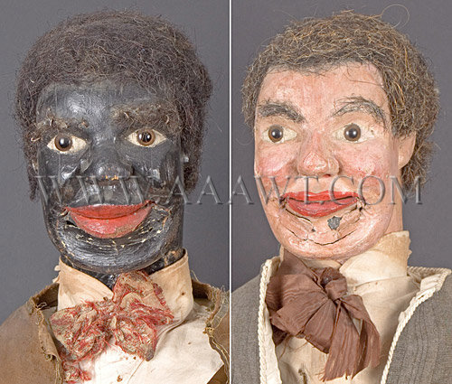 Boch New To You >> Antique Puppets, Vent figures, Heads, Folk Art ...