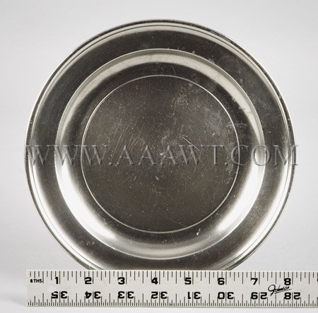 American Pewter Plate 